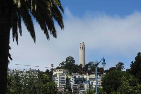 Coit Tower, Telegraph Hill, San Francisco