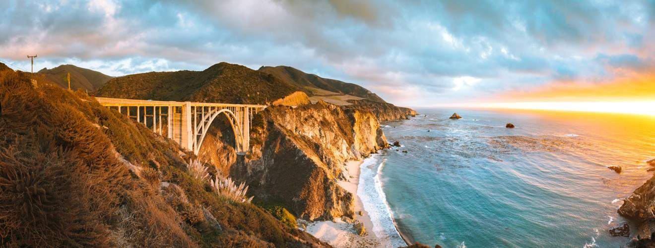 Pacific Coast Highway e Big Sur