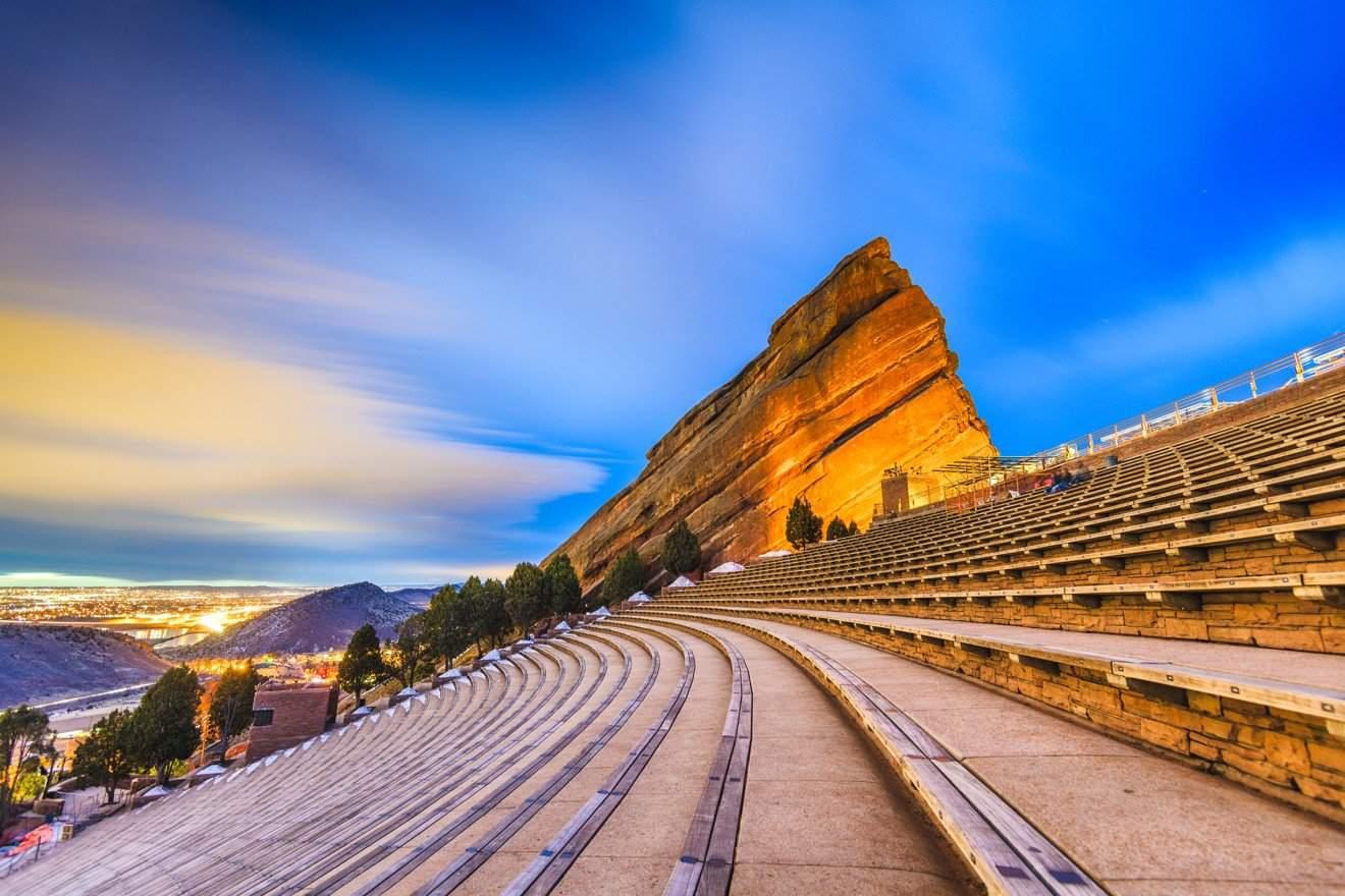 Anfiteatro Red Rocks Colorado