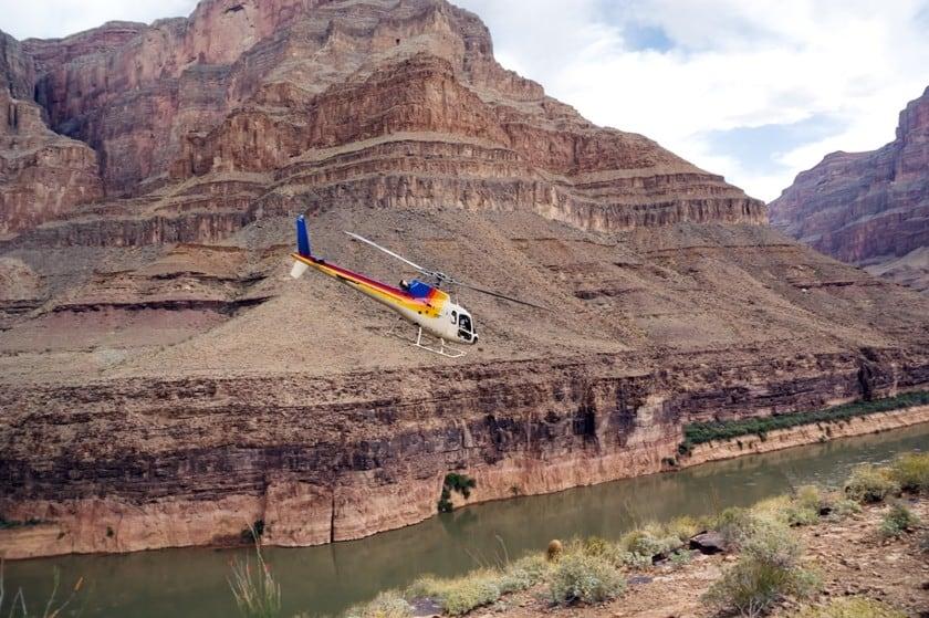 Grand Canyon tour elicottero