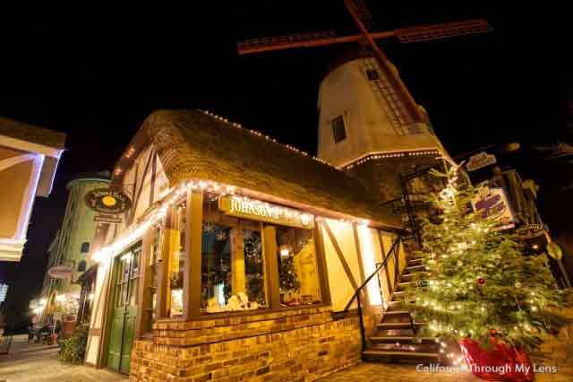 Solvang a Natale