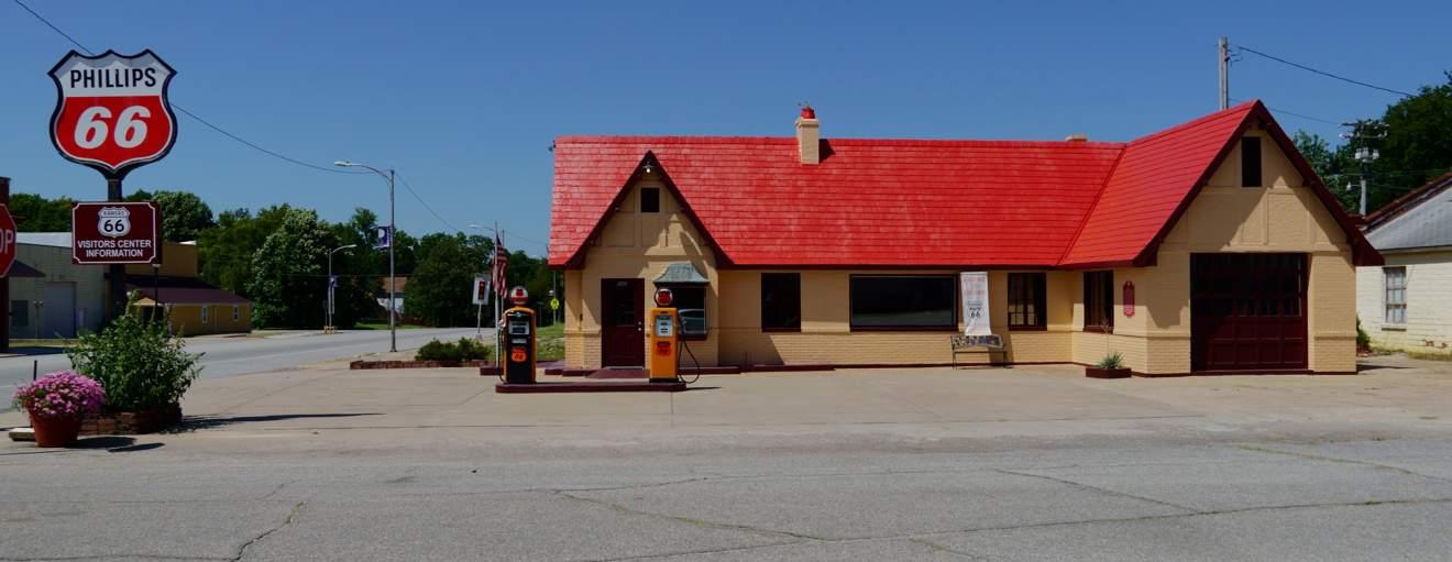 Percorso Route 66 Kansas