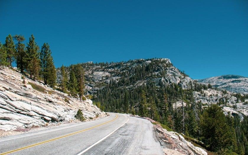 Tioga Pass Road come percorrerla