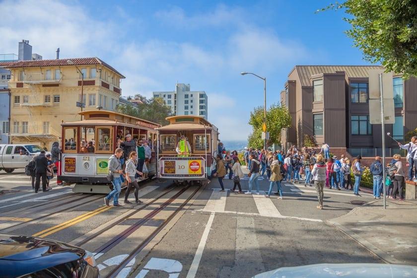 San Francisco Lombard Street come arrivare