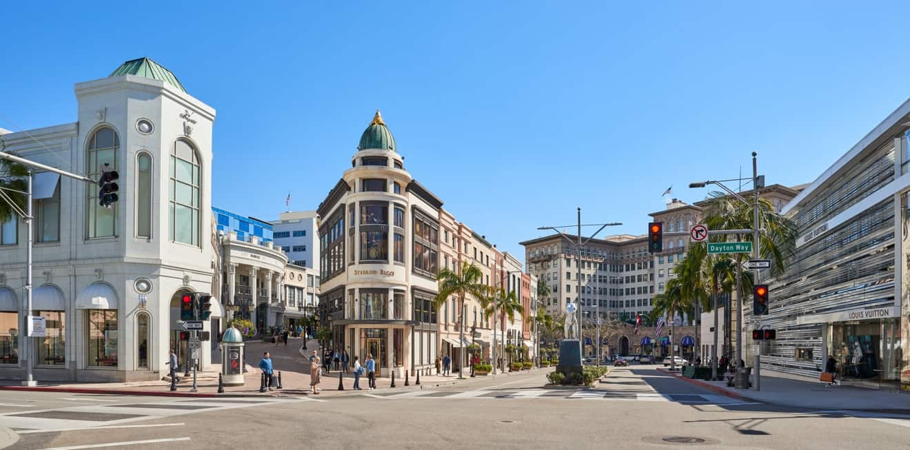 Rodeo Drive Los Angeles Cosa Vedere