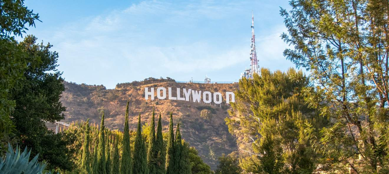 Scritta di Hollywood come fotografarla
