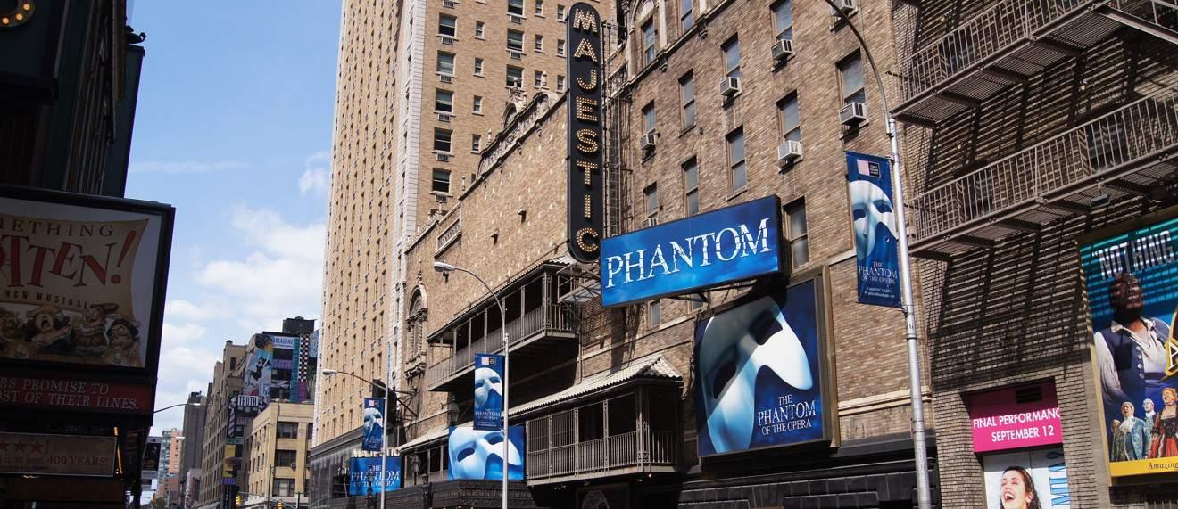 Phantom of the Opera Broadway info e biglietti