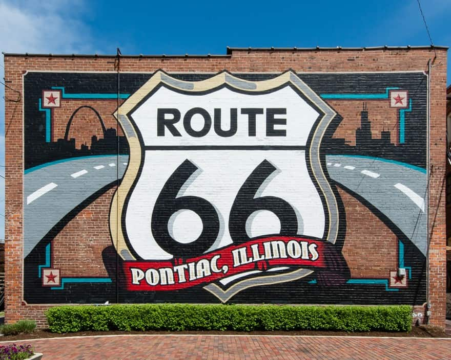 Pontiac illinois route 66
