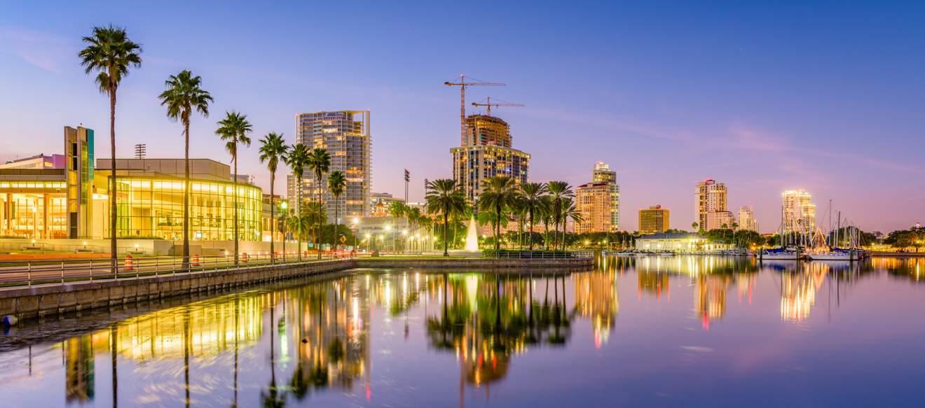 Saint Petersburg Florida Cosa Vedere