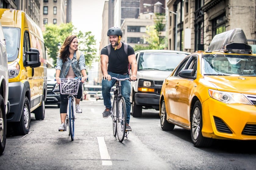 Come muoversi a New York bici