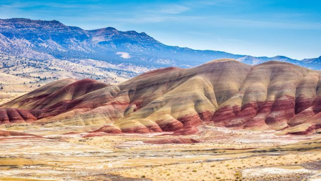 Painted Hills Oregon Cosa Vedere