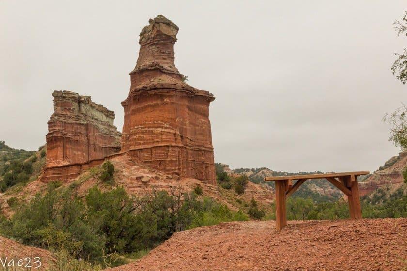 Palo Duro Canyon Lighthouse Trail
